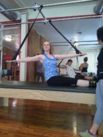 Moving Spirit Pilates teacher Allison Birt, Cadillac, North Vancouver Pilates
