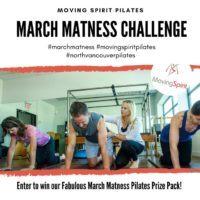 March Matness, Pilates Matwork, Instagram, Facebook, Moving Spirit, Moving Spirit Pilates, North Vancouver, Pilates studio, Carpenter